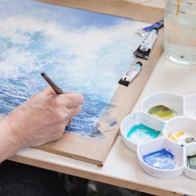 Energies of the sea | Wickerfish Art Gallery